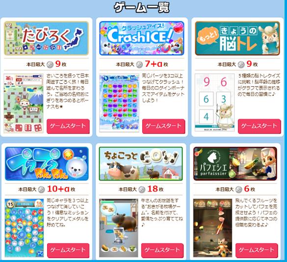 infoqのゲーム~プラネットラインナップ1