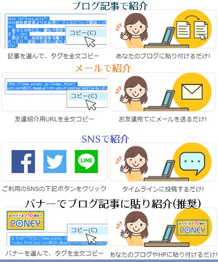 ポニーのまとめ記事~紹介方法について