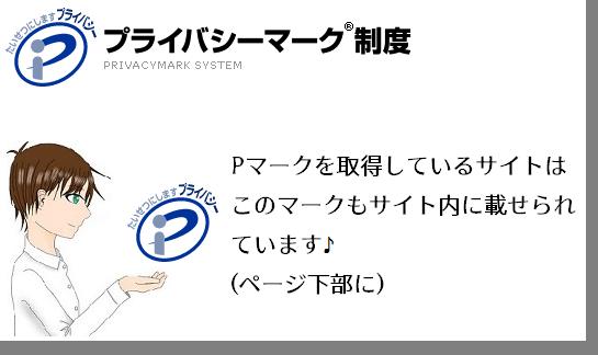 サイトセキュリティのプライバシーマークのイメージ