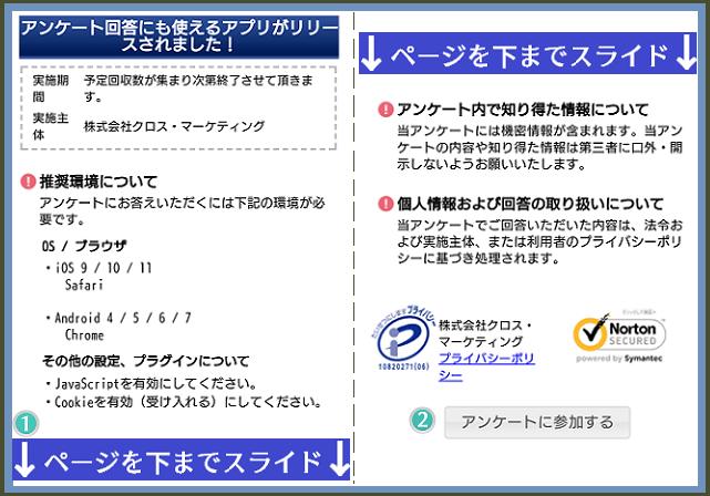 リサーチパネルのクロスブラウザーで案内メール分の詳細