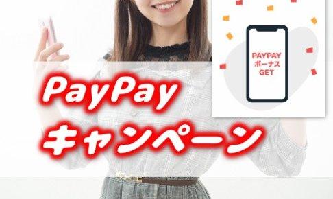 PayPayのキャンペーン解説のアイキャッチ画像