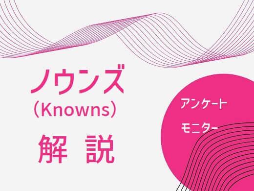 ノウンズ(Knowns)解説記事のアイキャッチ画像